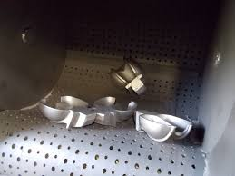 phun bi thùng đảo băng tải cuốn tumble belt